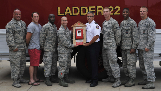 Reservists step up to help McConnell firefighters