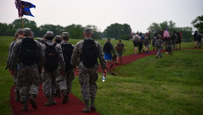2018 Police Week ruck march